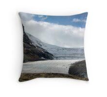 The Athabasca Glacier Throw Pillow