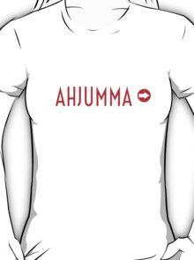 AHJUMMA - WHITE T-Shirt