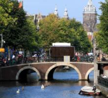Summer In Amsterdam Sticker