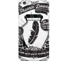 Phoenix Downs Lift You Up! iPhone Case/Skin