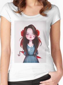 Lady Women's Fitted Scoop T-Shirt