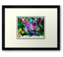 From The Painting Easel #3 Framed Print