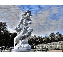 Garden statue at Sanssouci palace In Potzdam Germany Photographic Print