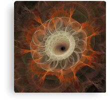 'Lace and Fire' Canvas Print