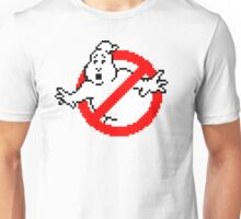 Pixelated Ghostbusters Logo Unisex T-Shirt