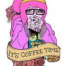 Adventure Time - It's Coffee Time (Princess Bubblegum) by Seignemartin