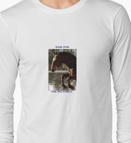 Ride for the Pictures Long Sleeve T-Shirt