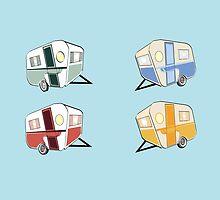 Retro Cavavans by Diana-Lee Saville