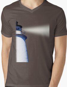 Ocracoke  Lighthouse Mens V-Neck T-Shirt