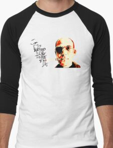 Hunter S. Thompson - The Banshee Screams for Buffalo Meat Men's Baseball ¾ T-Shirt