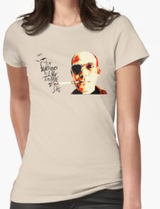 Hunter S. Thompson - The Banshee Screams for Buffalo Meat Womens Fitted T-Shirt