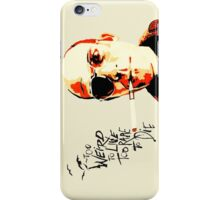 Hunter S. Thompson - The Banshee Screams for Buffalo Meat iPhone Case/Skin