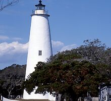 Ocracoke  Lighthouse by Roger Otto