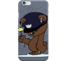 with only an umbrella  iPhone Case/Skin