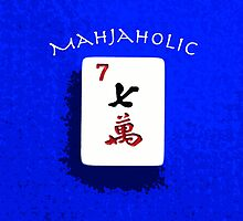 """Lucky Seven """"Mahjaholic"""" #6 ~ Mah Jongg Series by Susan Werby"""