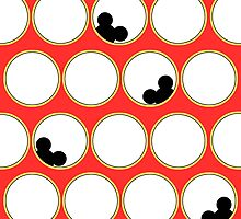 Peek-a-boo Mickey by AngieBee