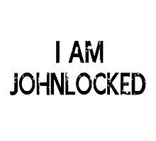 I AM JOHNLOCKED Photographic Print