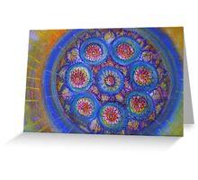 mandala -10 Greeting Card