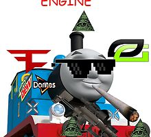 THOMAS THE DANK ENGINE MLG  by SamsonBryant