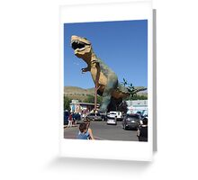 The Really Big T Greeting Card