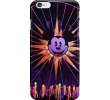 Disney Classic Mickey Mouse World of Color iPhone Case/Skin