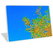 Tree and the moon Laptop Skin