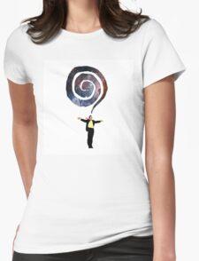 Galaxy Breath Womens Fitted T-Shirt