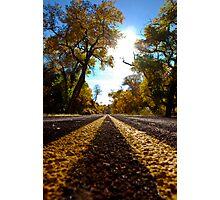 Road to sunshine Photographic Print