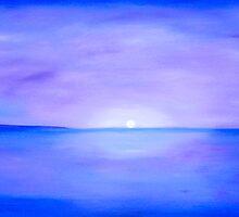 Rachel's seascape by sulaartist