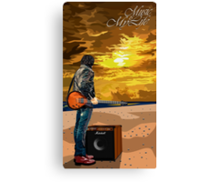Music Is My Life Canvas Print