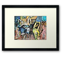 IN THE ARTISTS STUDIO(C2004) Framed Print