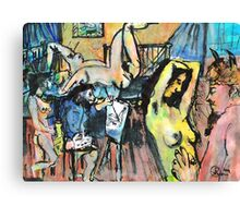 IN THE ARTISTS STUDIO(C2004) Canvas Print