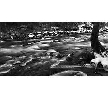 Winters Rush Photographic Print