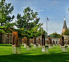 Oklahoma City National Memorial- HDR  by Jeremy  Jones