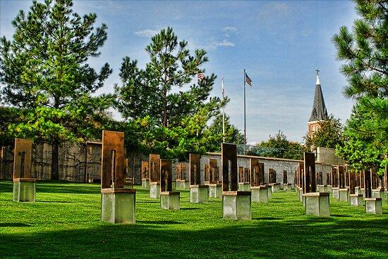 Oklahoma City National Memorial- HDR  by Jeremy  Jones