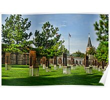 Oklahoma City National Memorial- HDR  Poster