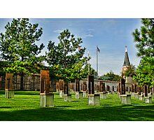 Oklahoma City National Memorial- HDR  Photographic Print