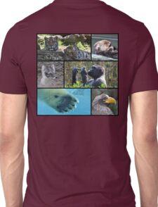 Wildlife Collage 1 Unisex T-Shirt