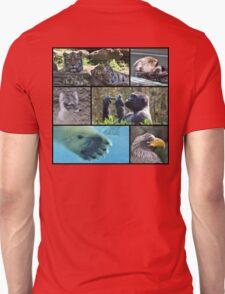 Wildlife Collage 1 T-Shirt