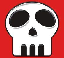 Cartoon Skull Kids Tee