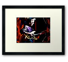 Oldies Band Framed Print
