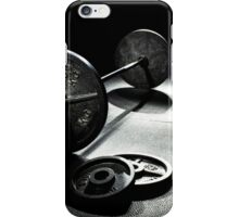 Olympic Weight Training iPhone Case/Skin