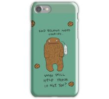 Sad Golems Need Cookies iPhone Case/Skin