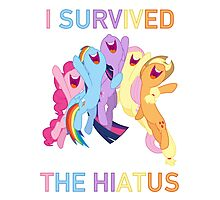 I Survived The Hiatus Photographic Print