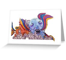 The Sea of Air (Portugal. The Man Inspired Art) Greeting Card