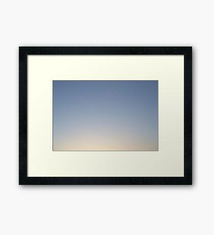 Good Morning Framed Print