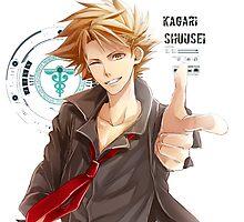 Shusei Kagari Psycho Pass  by Charlottesw3b