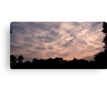 Patterns in the Sky Canvas Print