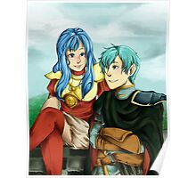 Sacred Siblings-- Fire Emblem Poster