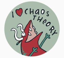 I *heart* Chaos Theory Kids Tee